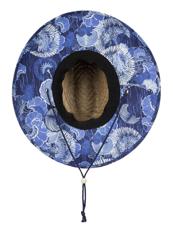 3b6d3743214e83 1 Tomboy Printed Straw Hat ERJHA03146 Roxy