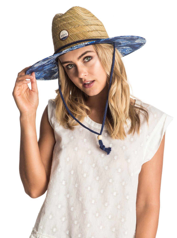 14ff3a10d002b0 2 Tomboy Printed Straw Hat ERJHA03146 Roxy