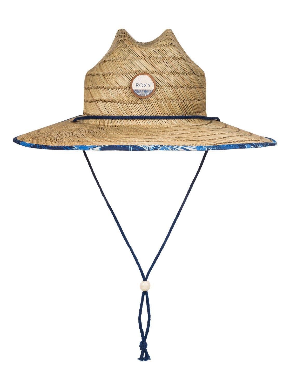 45590f32cb7418 0 Tomboy Printed Straw Hat ERJHA03146 Roxy
