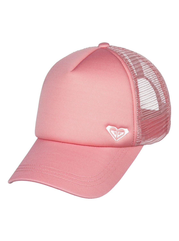 66b30390ff3bfb 0 Finishline Trucker Hat Pink ERJHA03320 Roxy