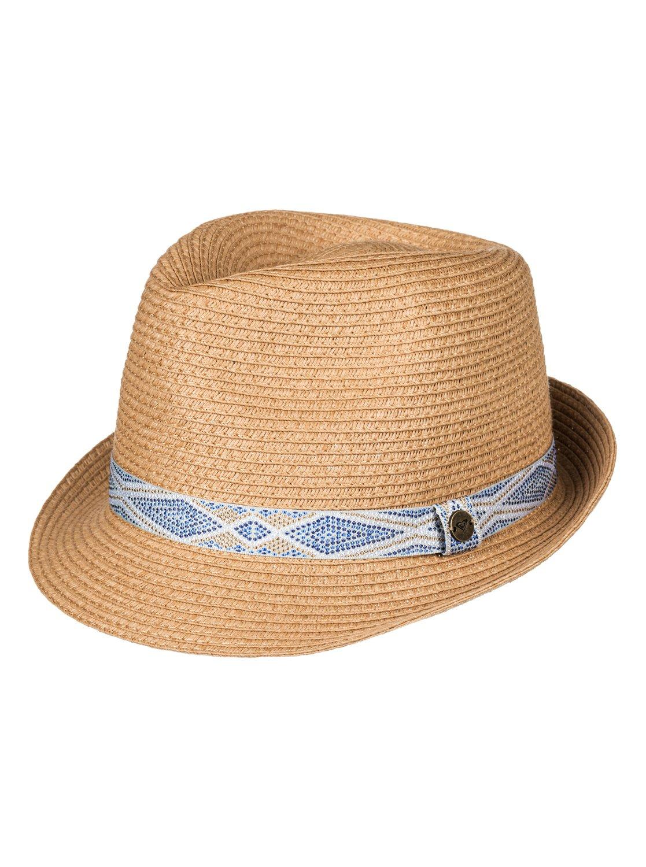b556441135090 0 Sentimiento Straw Fedora Hat ERJHA03362 Roxy