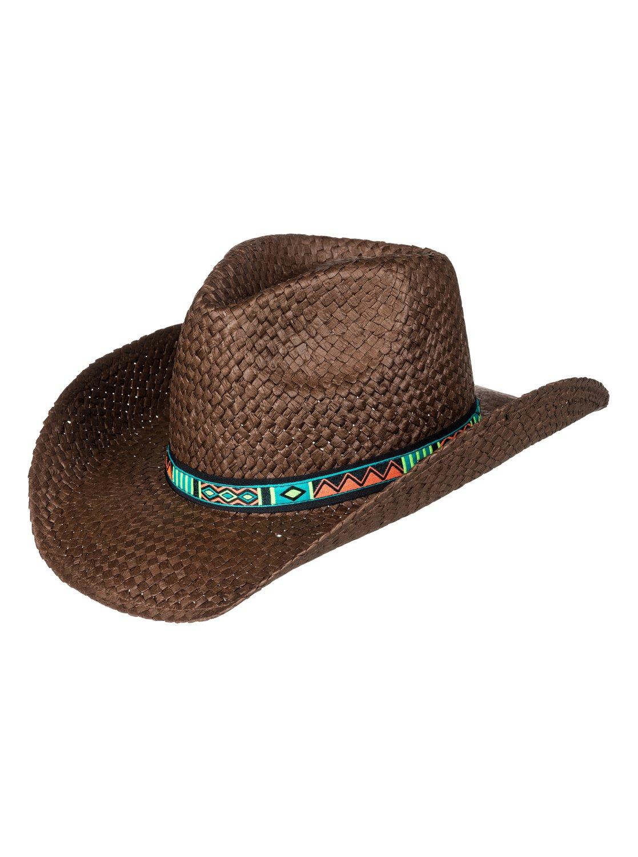6fe28711dccfc 0 Cowgirl - Sombrero Cowboy de Paja para Mujer ERJHA03382 Roxy