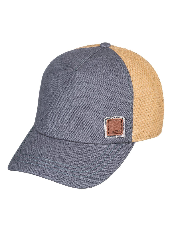 9abe56bfbbbfb 0 Incognito Trucker Hat Black ERJHA03482 Roxy