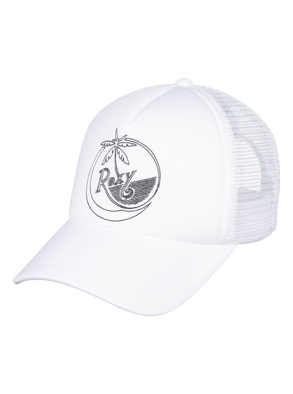 5353fe18d23 0 Truckin Color Trucker Hat White ERJHA03483 Roxy