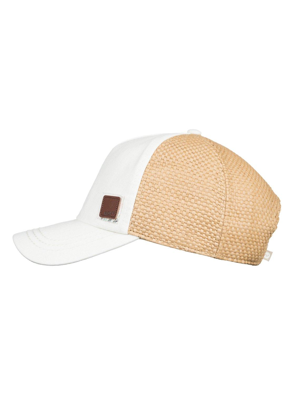 7cfdfe6a4 Incognito Straw Trucker Hat ERJHA03511 | Roxy