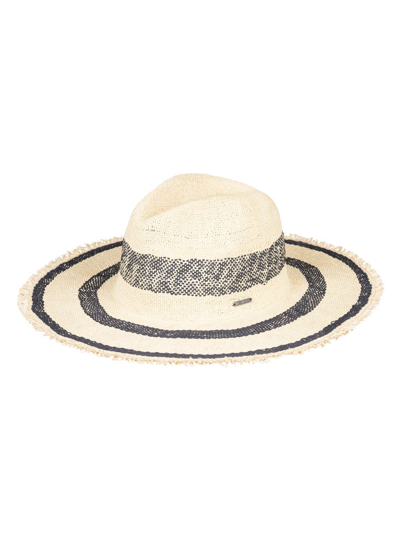 c3daf869 0 Sound Of The Ocean - Straw Sun Hat for Women Blue ERJHA03522 Roxy