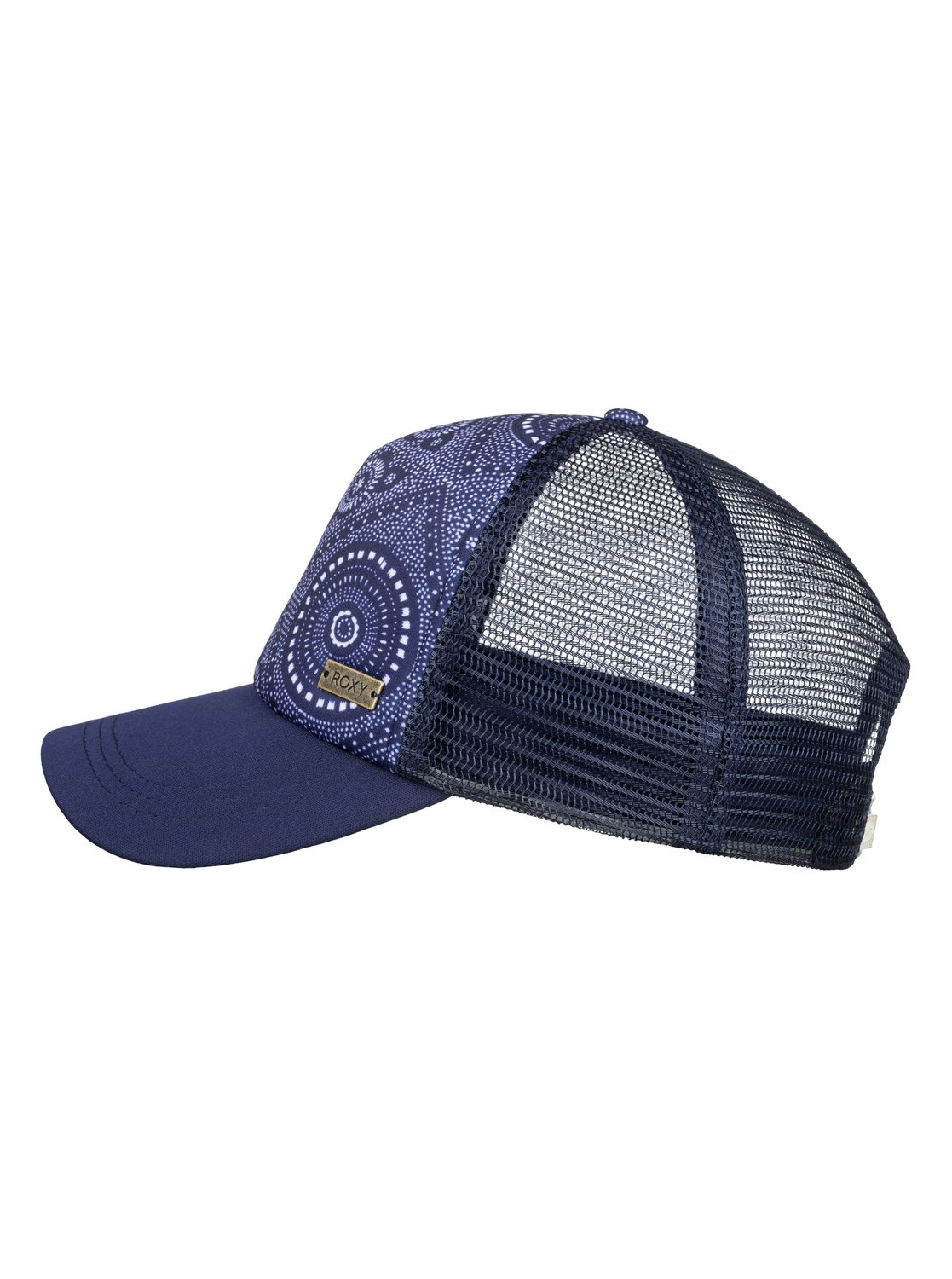 f8019f5e 1 Water Come Down Trucker Hat Blue ERJHA03532 Roxy