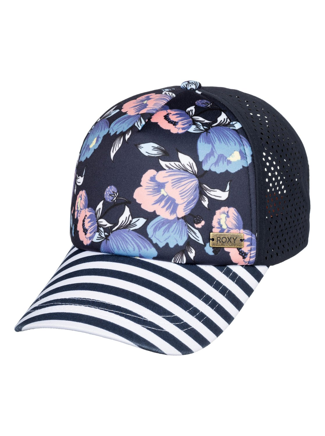 c07ff592e7e35 0 Waves Machine Trucker Hat Blue ERJHA03534 Roxy
