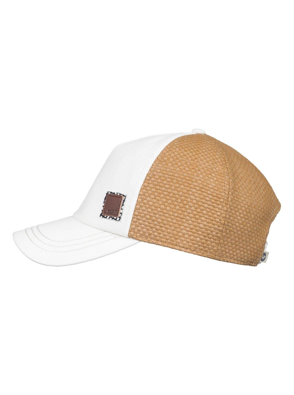 38a1c20788cce 1 Incognito Trucker Hat White ERJHA03543 Roxy