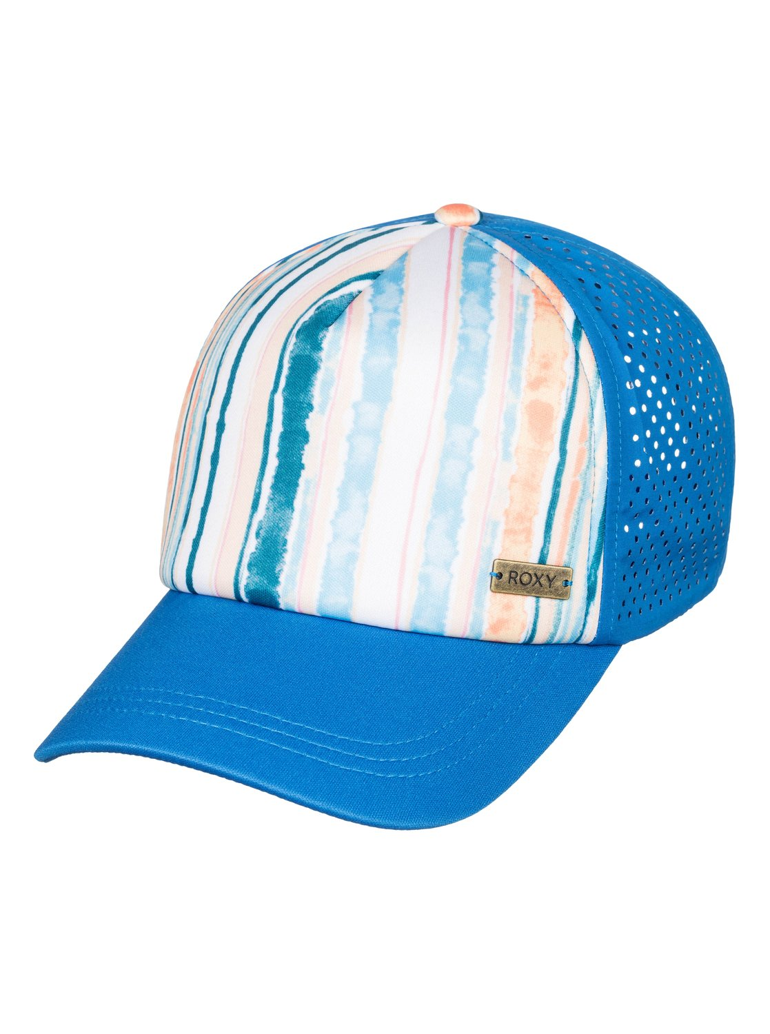 cc1809acde339 0 Waves Machines Trucker Hat White ERJHA03577 Roxy