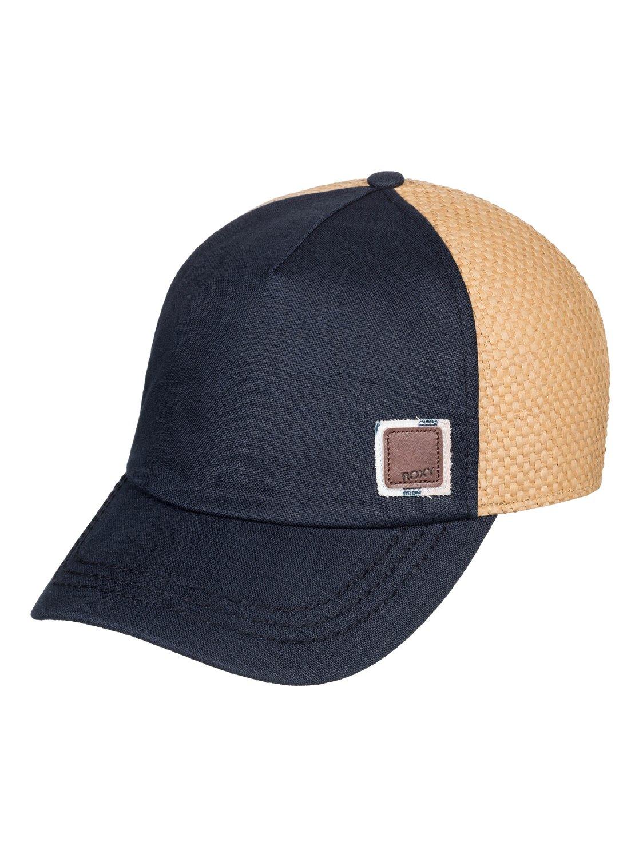 b5a4c0e965c6c 0 Incognito Trucker Hat Blue ERJHA03580 Roxy