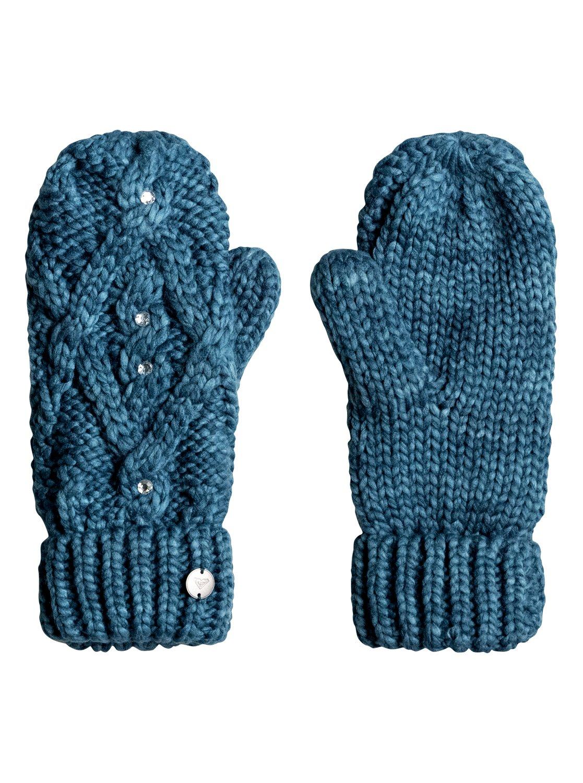 cfde98257ed 0 Shooting Star - Knitted Mittens for Women ERJHN03075 Roxy