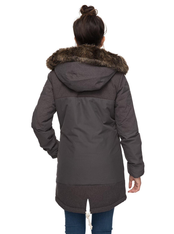 4e7afa38814 4 Tara - Chaqueta parka larga impermeable para Mujer ERJJK03185 Roxy