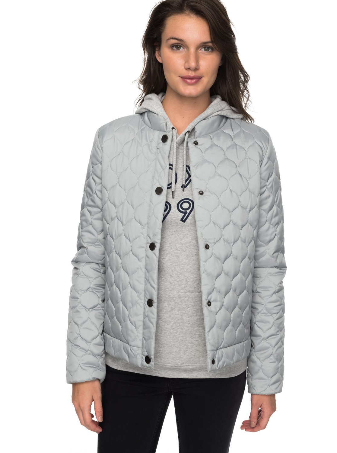 acaf77254 Funky Spirit - Quilted Puffer Jacket for Women