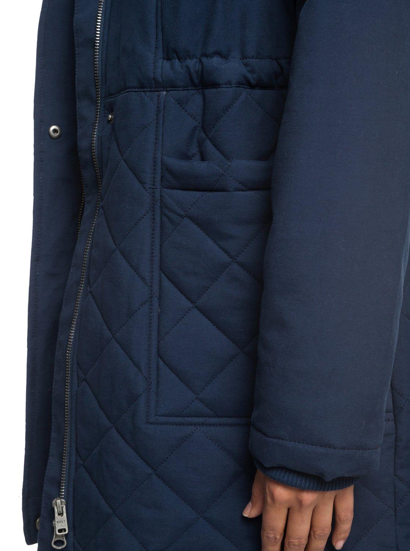 Roxy-Slalom-Chic-Veste-a-capuche-matelassee-impermeable-pour-Femme-ERJJK03231 miniature 12