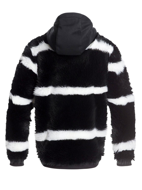 3e6766789 6 Carrie Technical Faux Fur Jacket Black ERJJK03236 Roxy