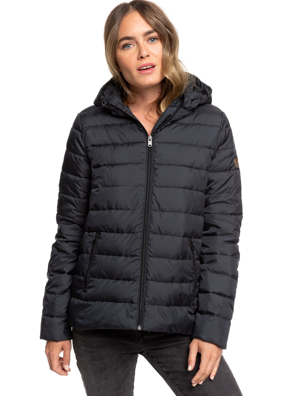 005e80b63ac7 Roxy™ Rock Peak - Water Repellent Padded Jacket - Women | eBay