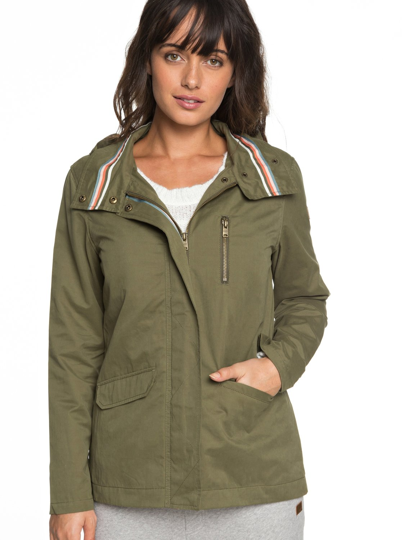 701eb0145ec 0 Lightening Strike - Chaqueta militar con capucha para Mujer ERJJK03260  Roxy