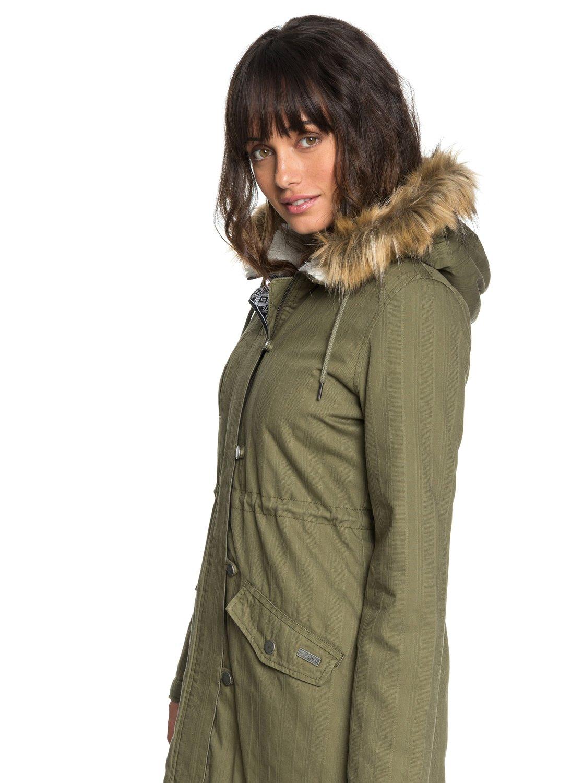 bonne texture style attrayant site autorisé Essential Element - Parka à capuche pour Femme