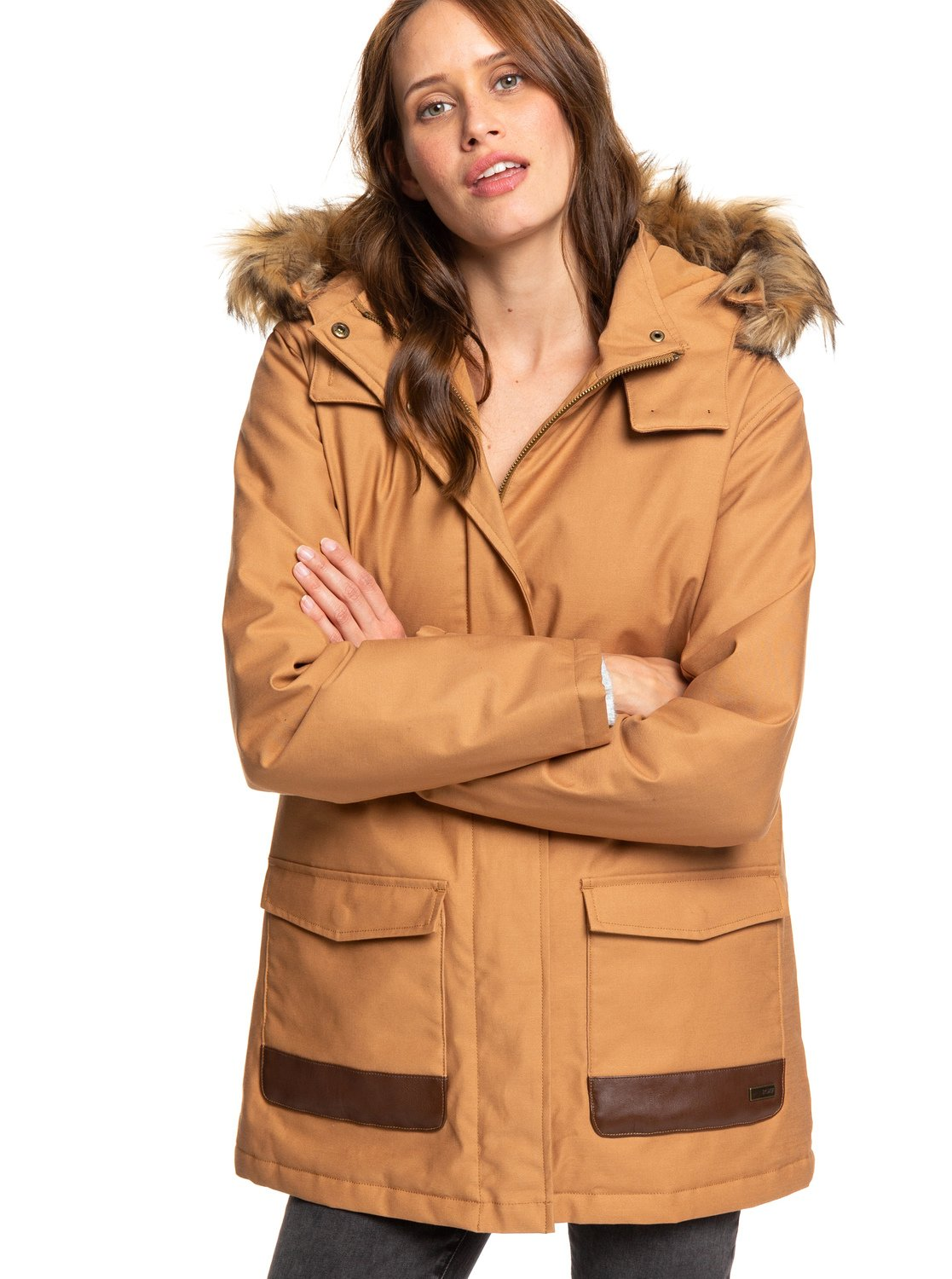 15a019c74116 Travelling West - Parka con Capucha para Mujer