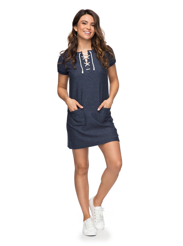 ca45ca7757 0 Beyond The Ocean T-Shirt Dress ERJKD03169 Roxy