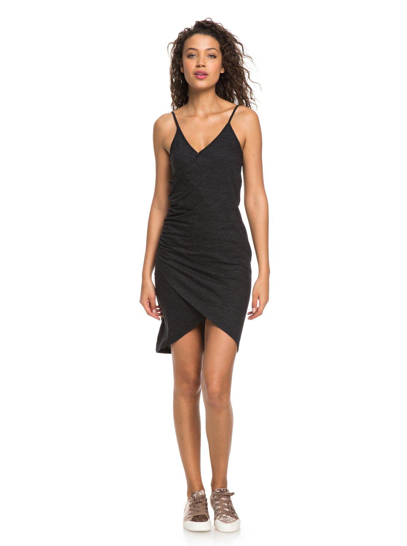 a73fd66737d2 3 Bali Bowl Bodycon Strappy Dress Black ERJKD03218 Roxy