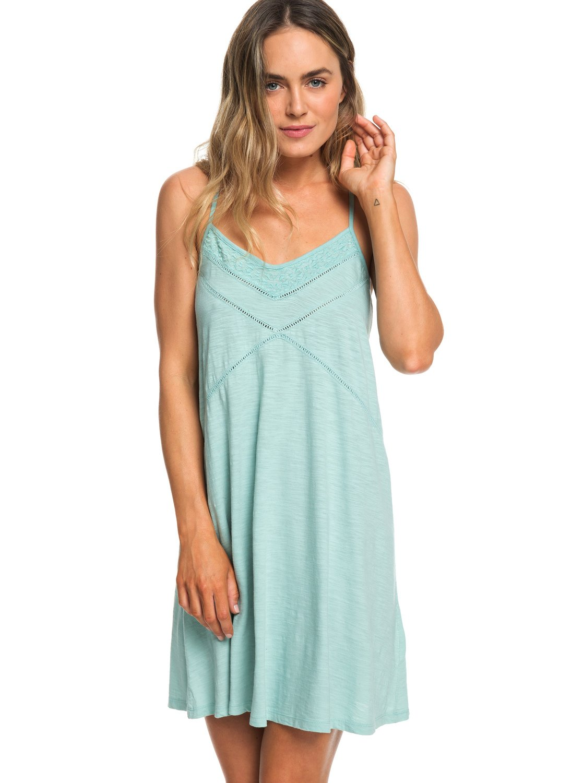 cf61e6fdb53 0 New Lease Of Life Strappy Beach Dress Blue ERJKD03236 Roxy