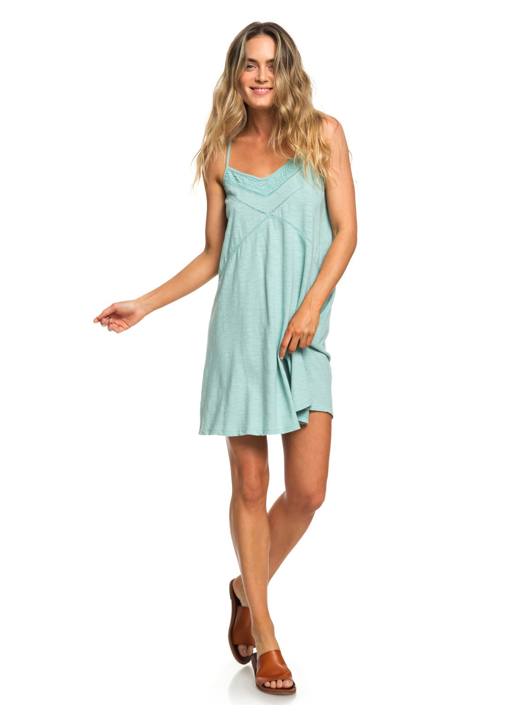 d4b409779 2 New Lease Of Life Strappy Beach Dress Blue ERJKD03236 Roxy