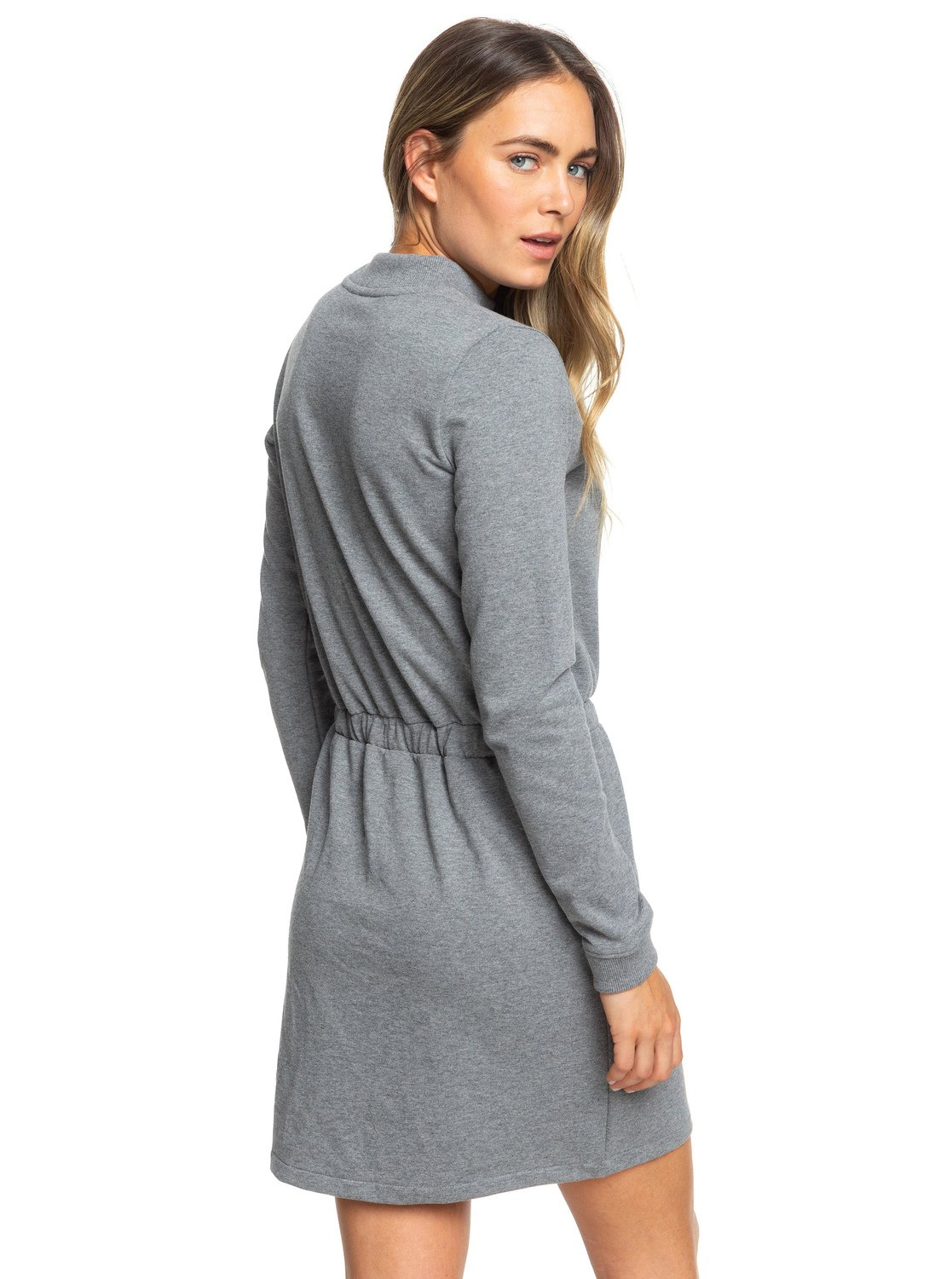 Longues Col Robe Femme Truly Sweat Mine Manches Montant Pour hrdCQtxsB