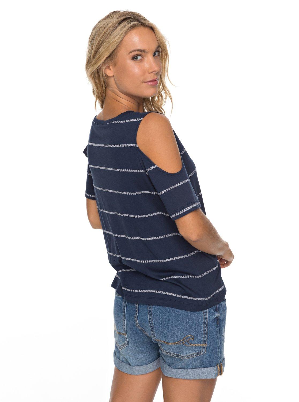 2f5f04c9b1c2c 2 Uptown Sun - Schulterfreies T-Shirt für Frauen ERJKT03358 Roxy