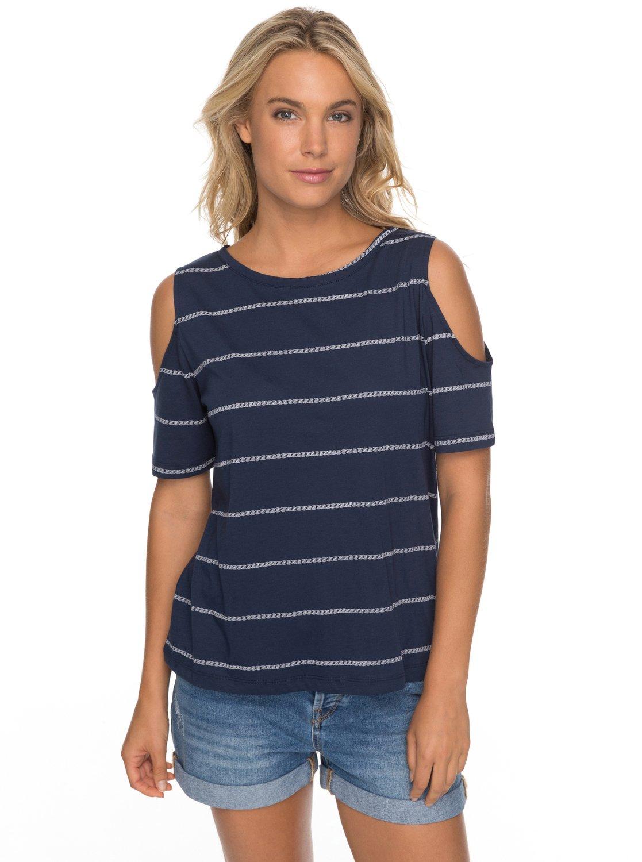 af6fb0834f575 0 Uptown Sun - Schulterfreies T-Shirt für Frauen ERJKT03358 Roxy