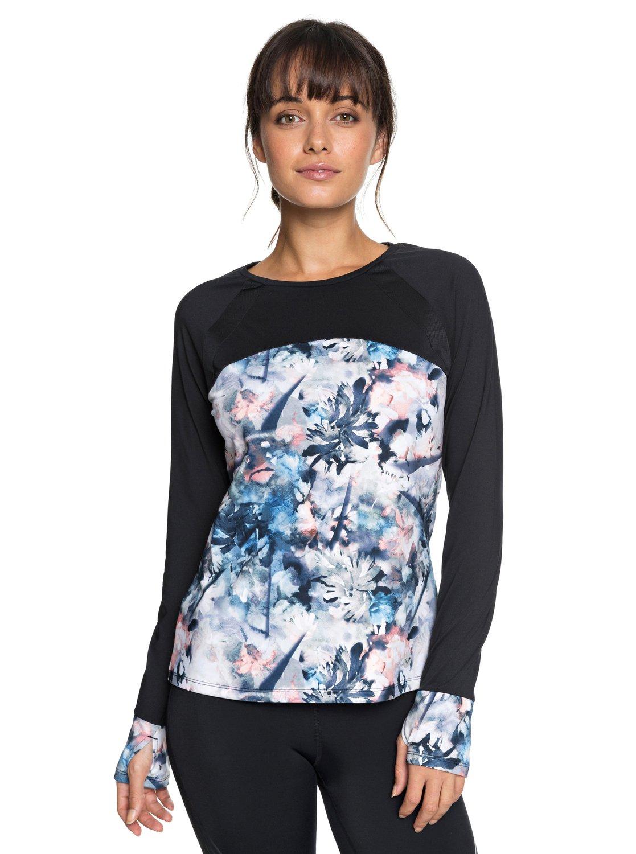 c0669983e81da 0 Cold Run - T-shirt de sport à manches longues pour Femme Bleu ERJKT03456