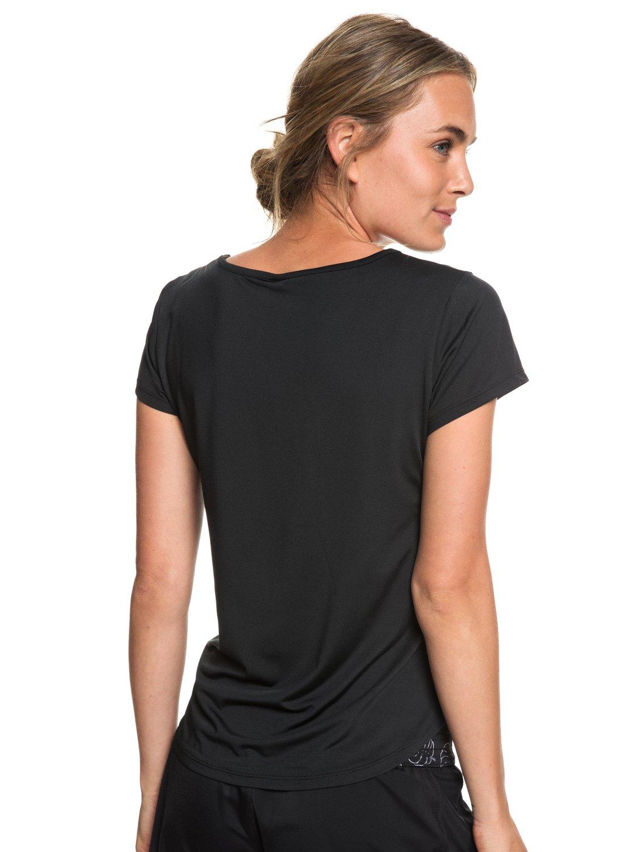 9c839700b5edb 3 Last Dance - T-shirt de sport pour Femme Noir ERJKT03507 Roxy