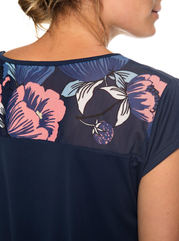 Da Erjkt03511Roxy Sunshine Maglietta Donna Liquid Sportiva byvf7gI6Y