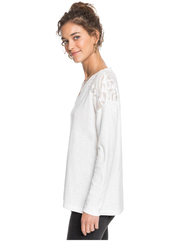 Roxy-You-Gotta-Be-Camiseta-de-manga-larga-con-cuello-en-V-para-Mujer miniatura 11