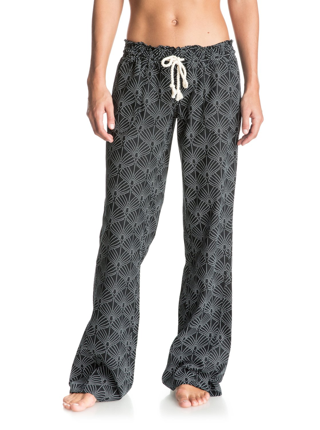 c21dc96549 0 Oceanside Printed Beach Pants ERJNP03041 Roxy