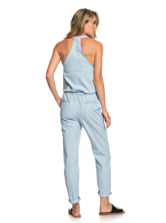 10e60ffeb6c7cb 3 Pretty - Träger-Jumpsuit für Frauen Blau ERJNP03231 Roxy