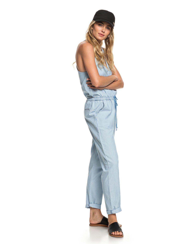 5f3e985c71172a 2 Pretty - Träger-Jumpsuit für Frauen Blau ERJNP03231 Roxy