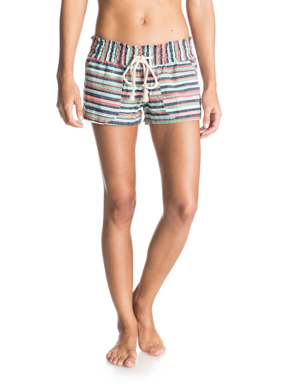 912b8768ce 0 Oceanside Printed Beach shorts ERJNS03010 Roxy