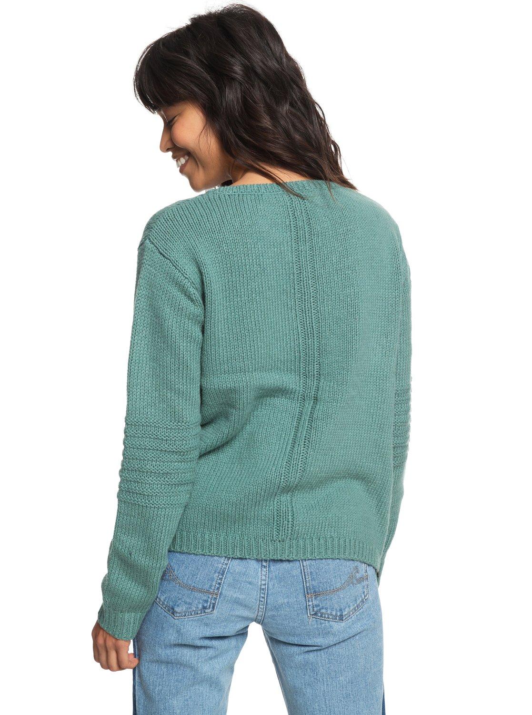 10ad95201 3 Glimpse Of Romance Sweater Blue ERJSW03276 Roxy