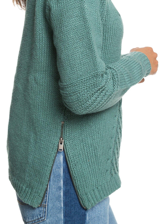 9e27a1ca0 1 Glimpse Of Romance Sweater Blue ERJSW03276 Roxy