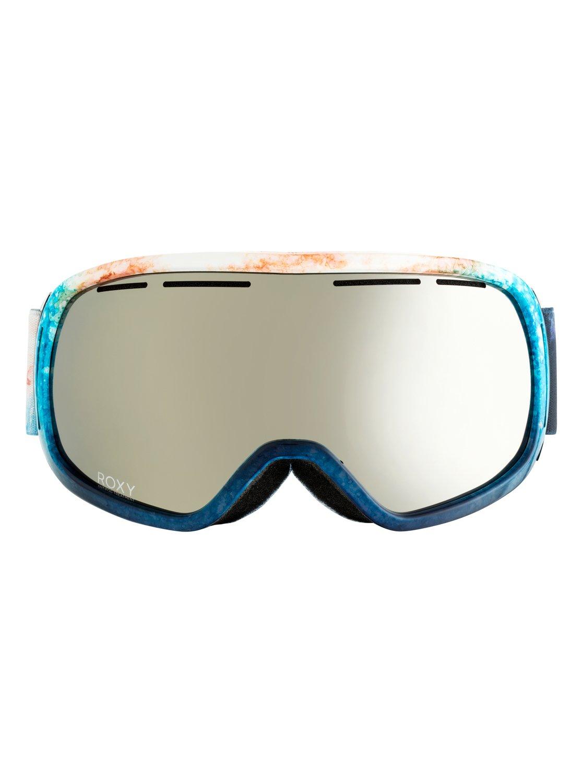 10b22d33b902 1 Rockferry Snowboard Ski Goggles White ERJTG03055 Roxy