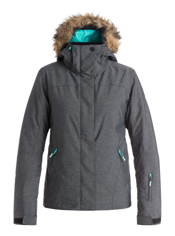 3cd7170d 0 Jet Ski Textured - Snow Jacket ERJTJ03057 Roxy