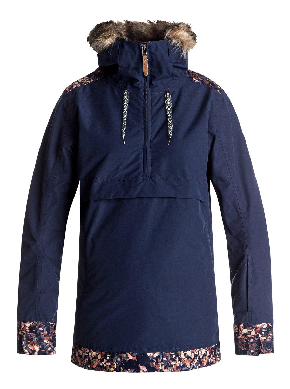 63f12c41722fd 0 Shelter - Veste de snow pour Femme Bleu ERJTJ03119 Roxy