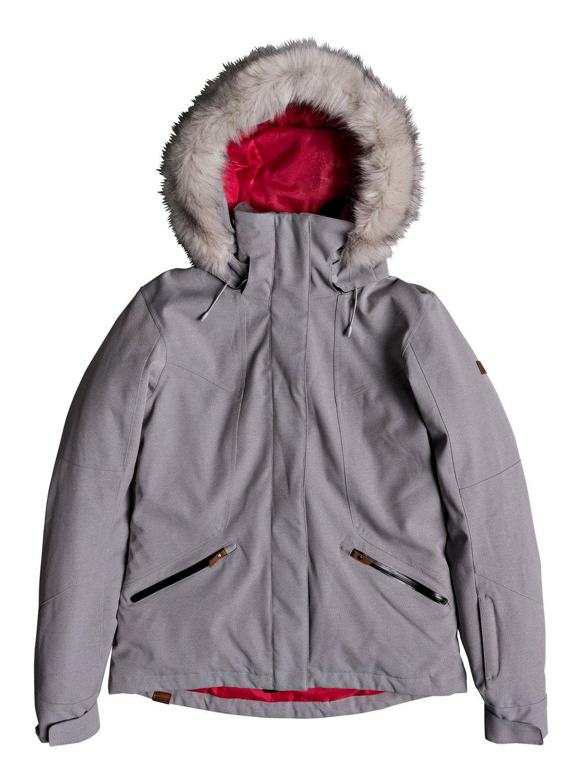 4fa85ff78cd7 0 Atmosphere - Snow Jacket for Women Grey ERJTJ03158 Roxy