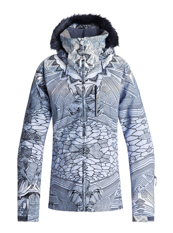 6e71d63d25a 0 Jet Ski Premium Snow Jacket Blue ERJTJ03159 Roxy