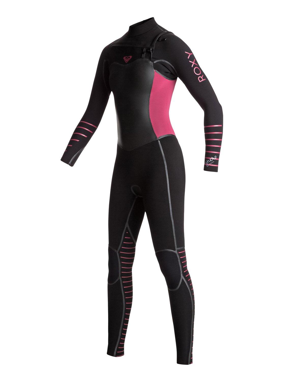 0d1fd79bcf 5/4/3mm Syncro Plus - Chest Zip Wetsuit for Women ERJW103029 | Roxy