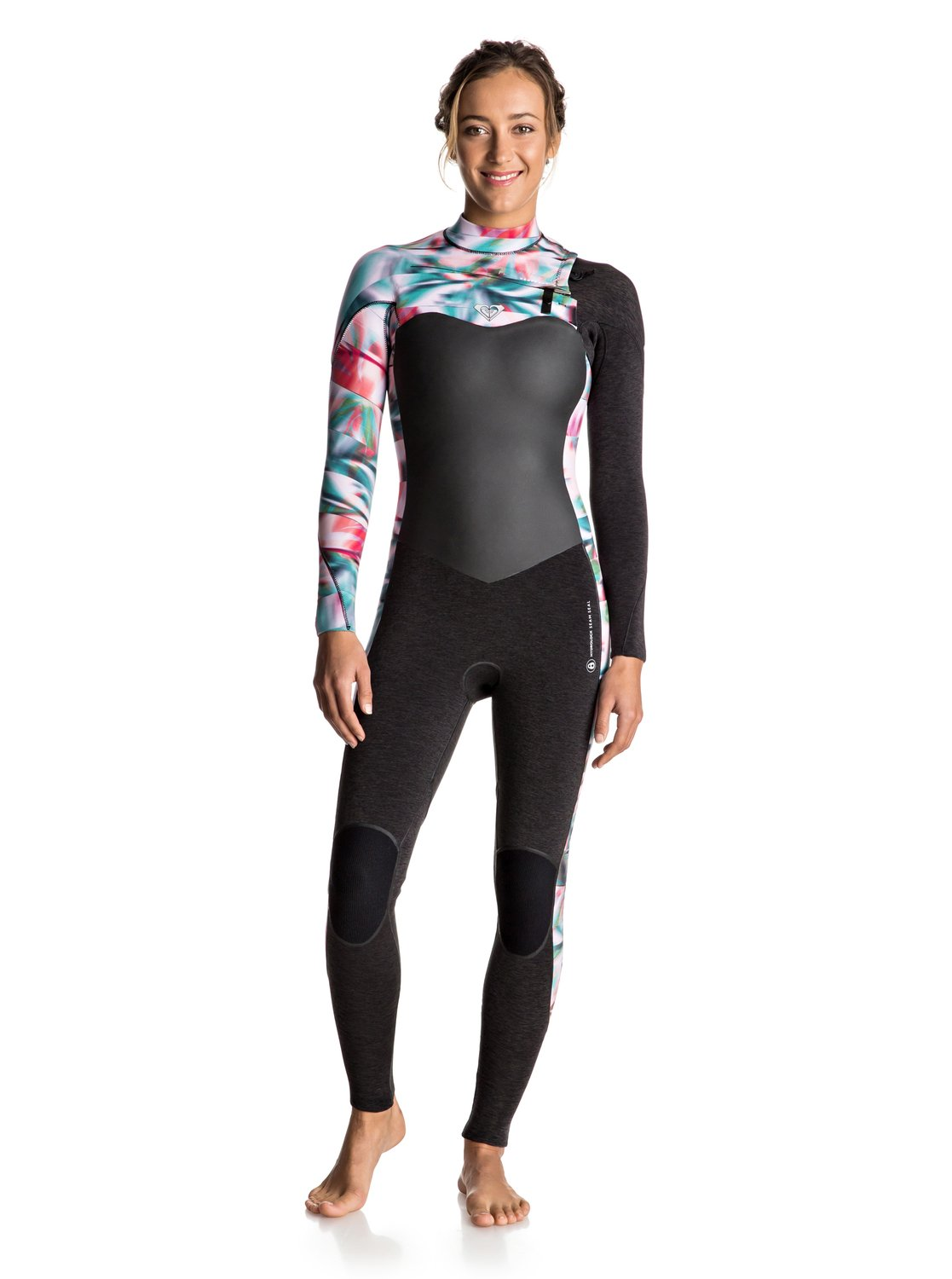 3442ebed044 0 3 2mm Performance - Chest Zip Wetsuit for Women Black ERJW103031 Roxy