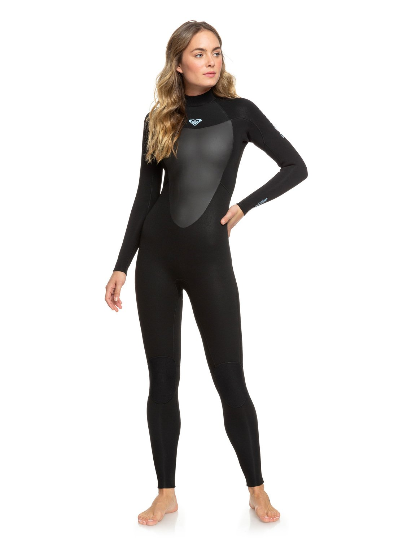 Roxy Damen 4//3mm Prologue Back Zip Wetsuit