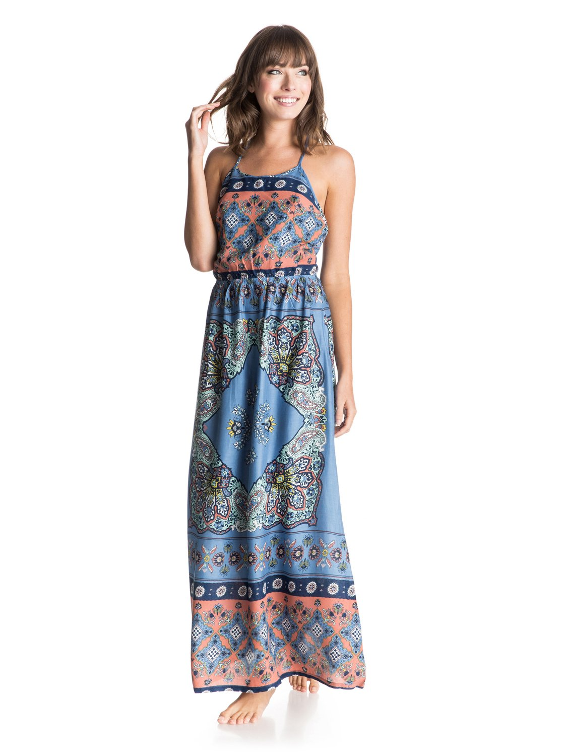 ca5c23123ab 0 Summer Fleet Maxi Dress ERJWD03025 Roxy